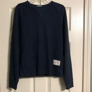 Abercrombie & Fitch Muscle Fit Shirt Small Navy
